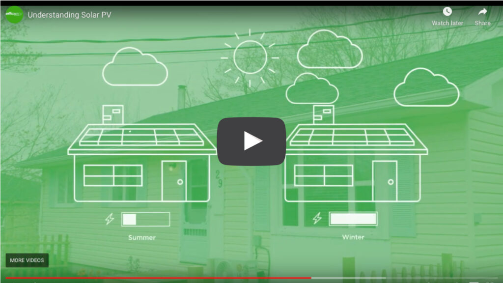 Solar homes video screenshot